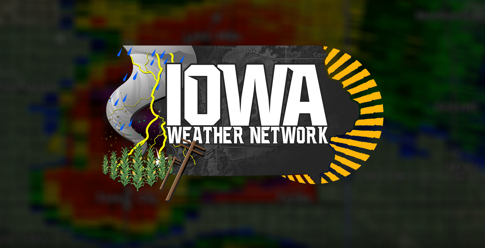 Iowa Weather Network Present Logo